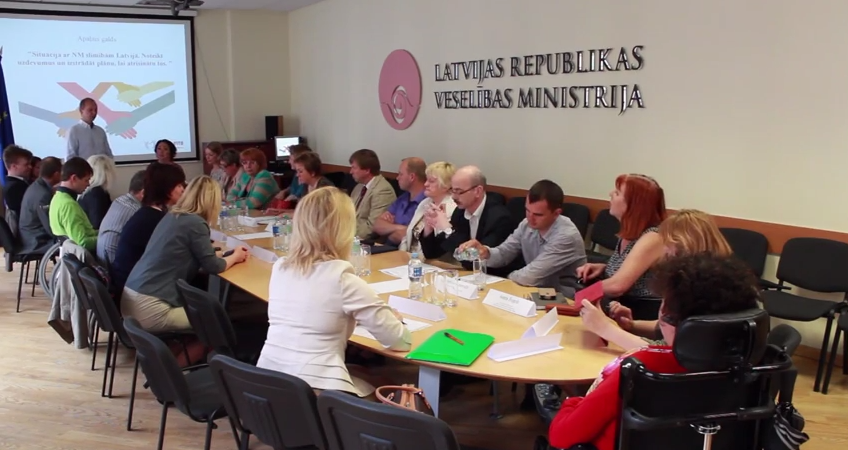 "Association of people with special needs ""Motus Vita"" held a round table's discussions"