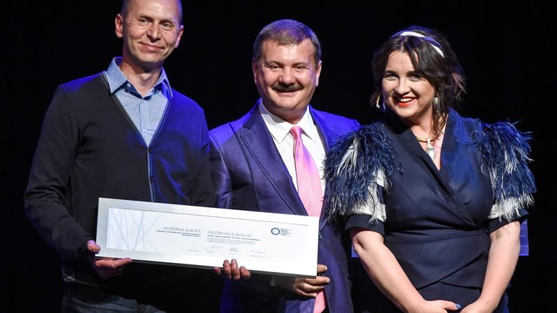 Award by the Boris and Ināra Teterev Charity Foundation